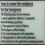 How to renew the residence for Foreigners