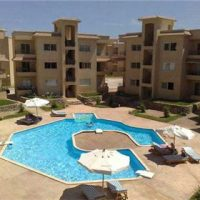 Unfurnished new flats with pool view