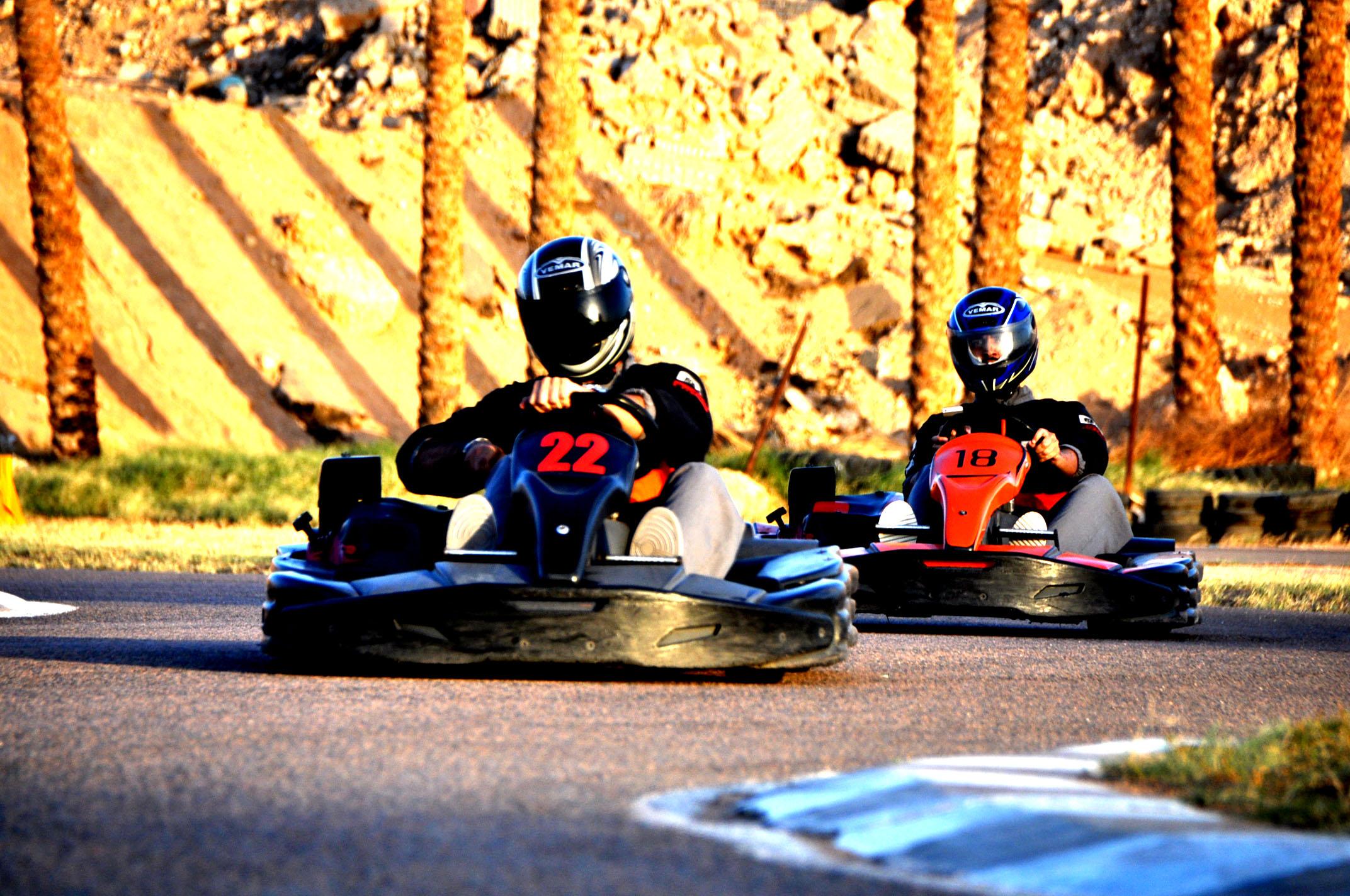 Weekly events at GHIBLI RACEWAY karting facility in Naama Bay