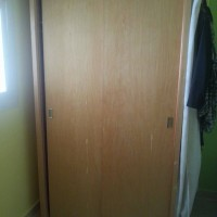 2 high chairs and wardrobe for sale