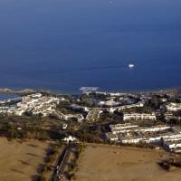 amazing studio sea view  in domina coral  first line hotel