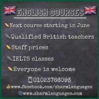 English Language Courses - June start