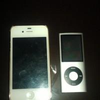 Sale Iphone 4S  16Gb Good condition + Ipod 8Gb