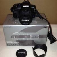 (Olympus E-420 10.0 MP Digital SLR Camera- Black (Kit w/ 14 -42mm