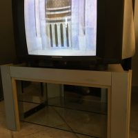 "Grundig TV 24"" with table"