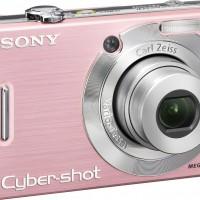 Sony Cybershot DSCW55 7.2MP Digital Camera with 3x Optical Zoom (Pink)