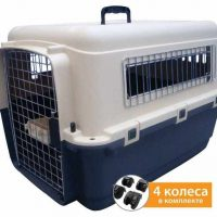 New transportation cage for dogs