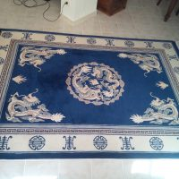 Chinese Rug with dragon design for Sale