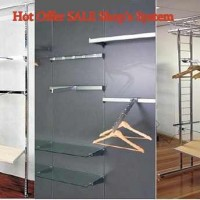 FOR SALE !! Display & Wall Systems !! modern design! ALL what you need for business and opening shop