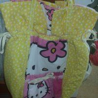 Hello Kitty Kidsbag Handmade