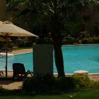 Selling 50% share in private garden apartment with beach use in Nabq