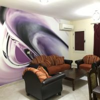 New renovated and furnished 2 bedroom apartment for long term rent