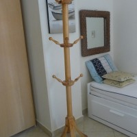Tree -floor rack. Made of wood.  Calls from 8 a,m till 8 p.m. Nabq, Sunny House.