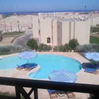 Flat 60 m for sale in Nabq : sea and swiming pool view