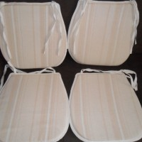 4 New seat pads