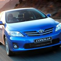 Toyota Corrolla blue amazing