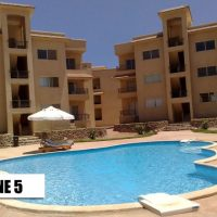 2 unfurnished new flats with pool view