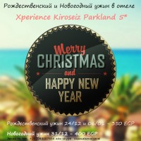 New Year and X-Mas dinner in 5* hotel