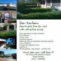 Dar Kortam - Apartments free for rent