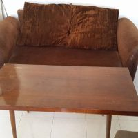 Coffe table and sofa bed for sale