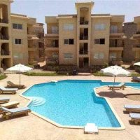 2 nice flats at swimming pool in sierra compound