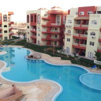 Penthouse for sale in Maraqya resort Nabq : first line : sea and Tiran island view