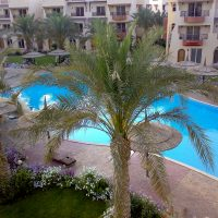 Nubia Sharm. Front line 100 sqm apartment, private sand beach, exclusive location