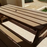 Wooden Picnic Table/Bench