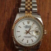 Rolex gold 18k watch for sale