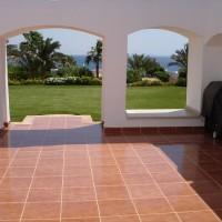 amazing sea view villa in domina coral bay 5* hotel