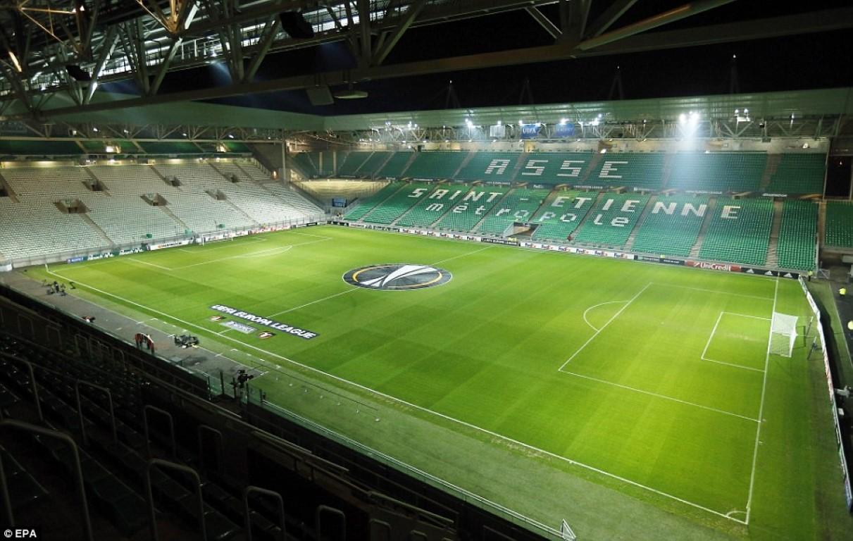 SAINT-ETIENNE Stade Geoffroy Guichard