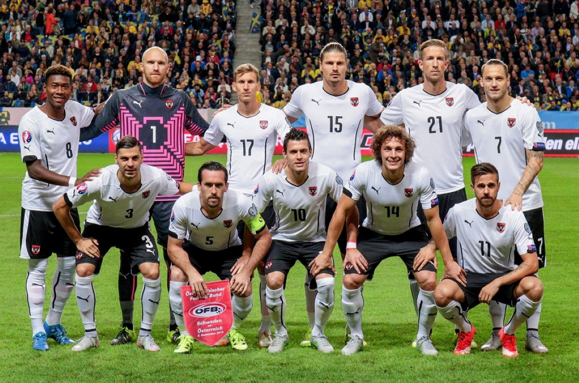 team photo for Austria