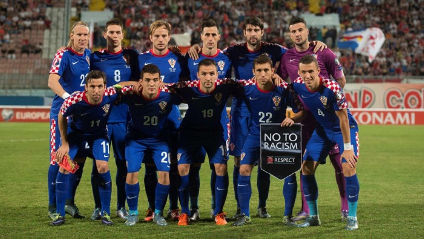 team photo for Croatia