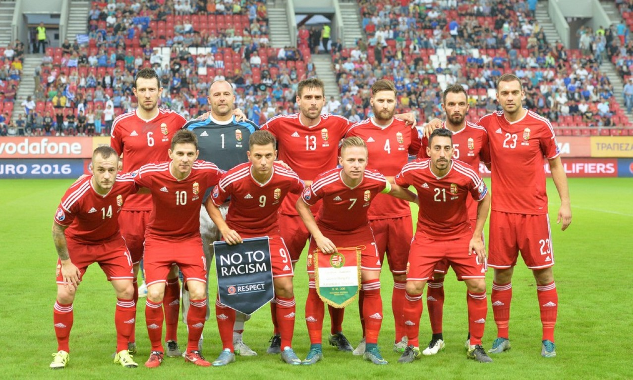 team photo for Hungary