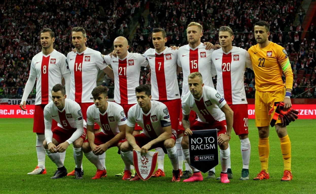 team photo for Poland