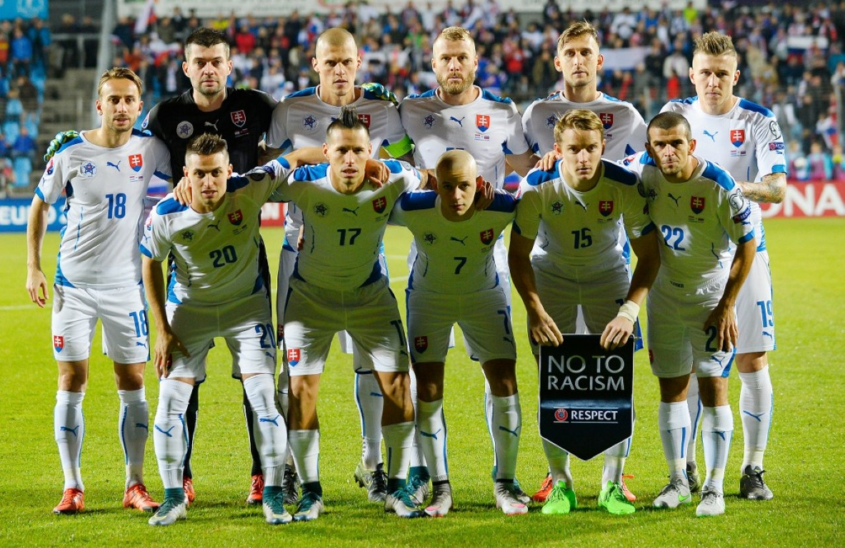 team photo for Slovakia