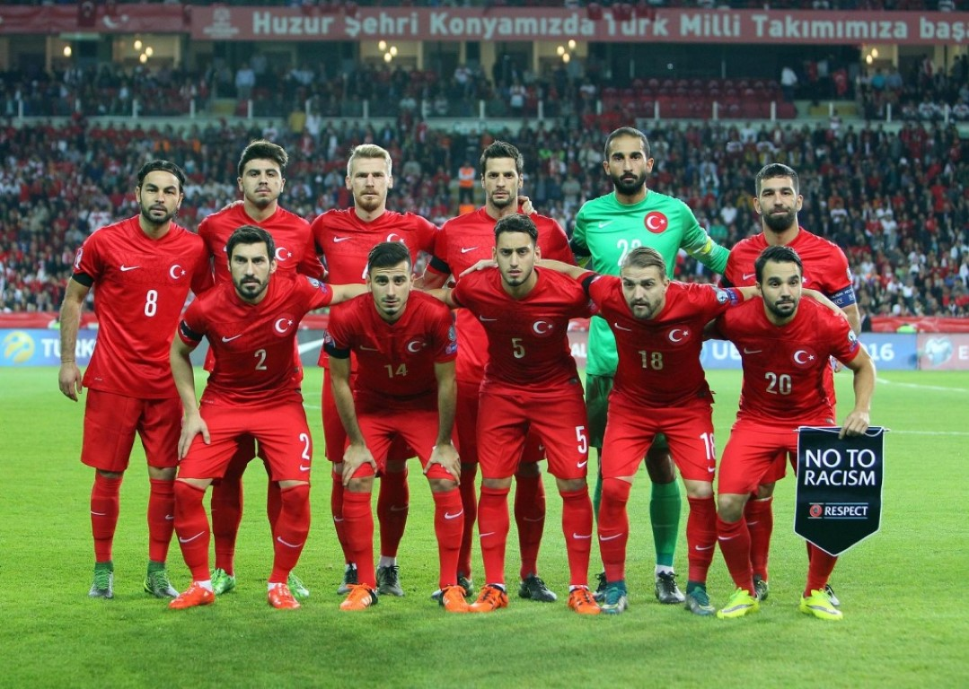 team photo for Turkey