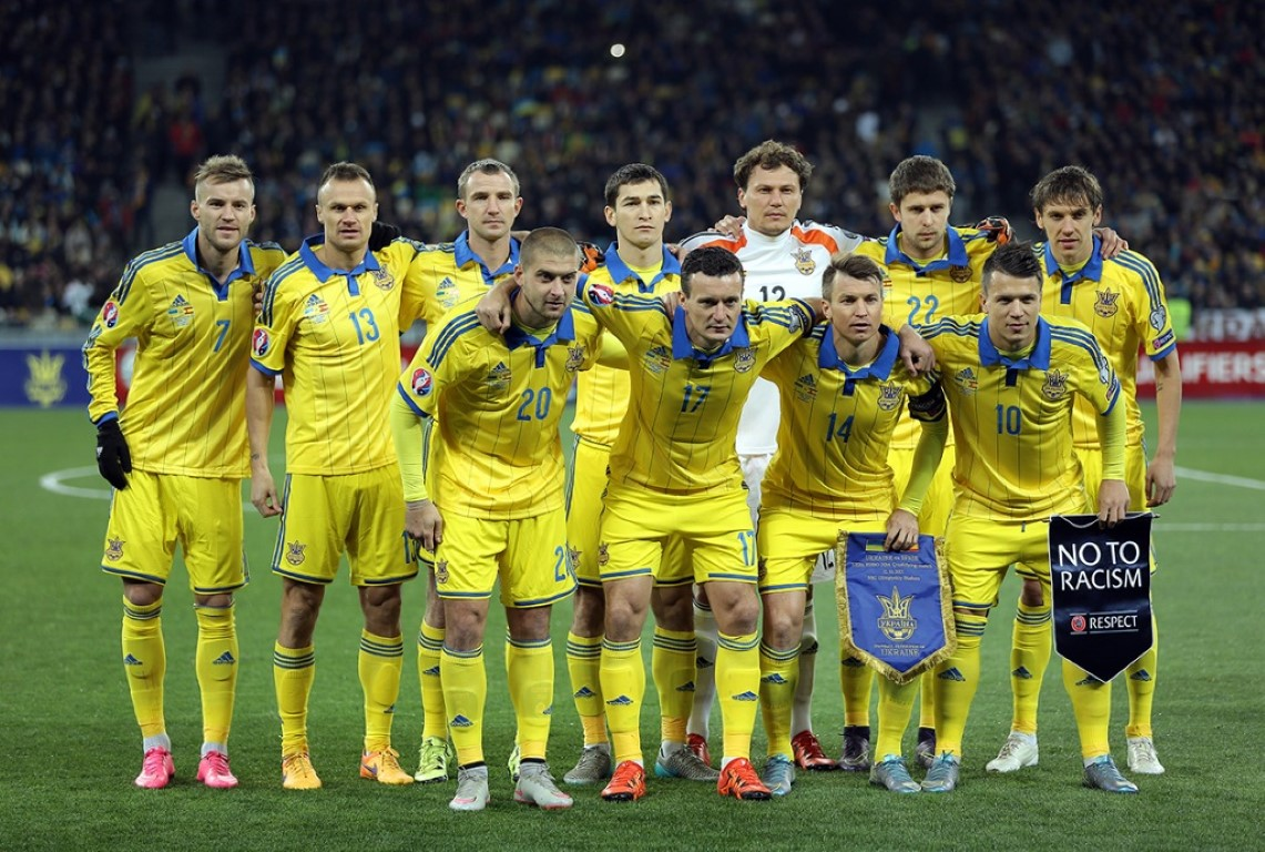 team photo for Ukraine